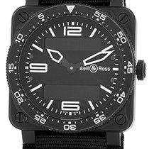 "Bell & Ross ""BR 03-88 Aviation Type"" Strapwatch."