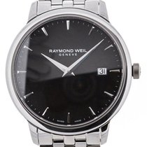Raymond Weil Toccata 39 Stainless Steel Black Dial