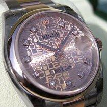 Rolex Datejust 116201 Mens Steel & Pink Gold Pink Jubilee...