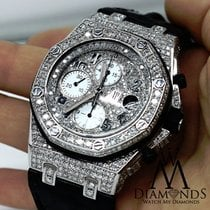 Audemars Piguet Royal Oak Offshore Chronograph Diamonds Watch...