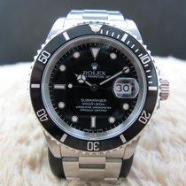 勞力士 (Rolex) SUBMARINER 16610 Black T25 Dial with Black Bezel