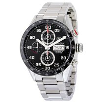 タグ・ホイヤー (TAG Heuer) Carrera Automatic Chronograph Mens Watch...