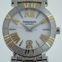 Tiffany & Co Atlas, Ladies, Stainless Steel and 18K Yellow...
