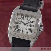 Cartier Santos 100 Medium Edelstahl Automatik Ref. 2878