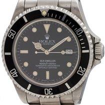 Rolex Sea-Dweller ref # 16600 Tritiium Indexes Dial circa 1991
