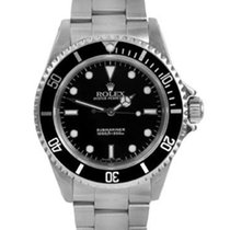 Rolex Mens SS 14060 Submariner No Date - Black Dial - Oyster...