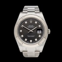 Rolex Datejust II Stainless Steel & 18k White gold Gents...