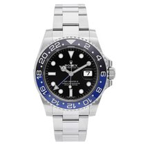 Ρολεξ (Rolex) Men's Rolex GMT-Master II Steel Watch with...