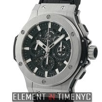 Hublot Big Bang Aero Bang Stainless Steel 44mm Black Dial