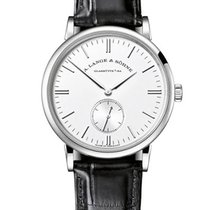 A. Lange & Söhne 219.026 Saxonia Mens 35mm Manual in White...
