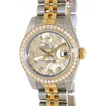 Rolex Datejust Lady 179383 Steel, Yellow Gold, Diamonds, Gold...