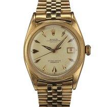 Rolex DATEJUST 6105 OVETTONE PINK GOLD