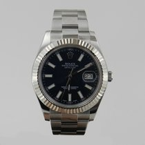 Rolex DATE JUST 2 STEEL &  WHiTE GOLD BEZEL 41mm