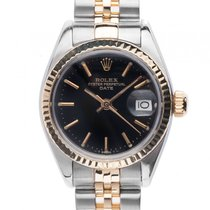 Rolex Oyster Perpetual Date Lady Stahl Gelbgold Automatik...