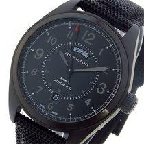 Hamilton カーキ フィールド KHAKI 自動巻き メンズ 腕時計 H70695735 ブラック