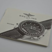 Breitling Anleitung Manual Pluton Vintage