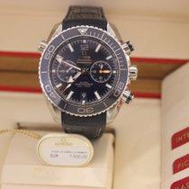 Omega Seamaster Planet Ocean Chronograph Blue