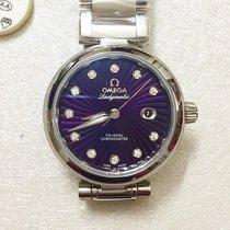 Omega DE VILLE LADYMATIC Co-Axial - Violet Diamonds Dial
