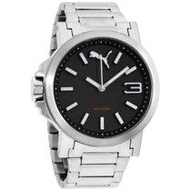 Puma Black Dial Stainless Steel Men's Watch Pu103462018