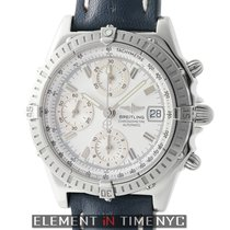 Breitling Chronomat Stainless Steel White Dial 39mm