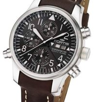 Fortis F-43 Flieger Chronograph Alarm Limited Edition 702.10.8...