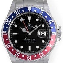 Rolex Men's Rolex GMT-Master II Watch 16710 Red/Blue...