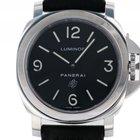 Panerai Luminor Base Logo Stahl Handaufzug Armband Leder 44mm...