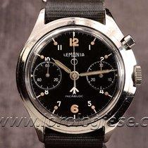 레마니아 (Lemania) Original 1969 Military Chronograph Cal. Lwo...