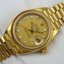 勞力士 (Rolex) Datejust Lady Gold - 69178 -Diamant-ZB - aus 1984