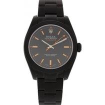 Rolex Oyster Perpetual Milgauss SS W/ Custom PVD 116400