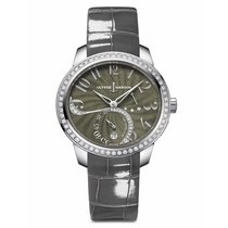 Ulysse Nardin Jade Grey Dial Diamonds Ladies watch