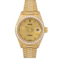Rolex Datejust President 18k Original Diamond Jubilee Dial/Bezel