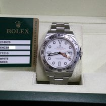 Rolex Explorer II 216570 White Dial Steel Box & Papers  2013