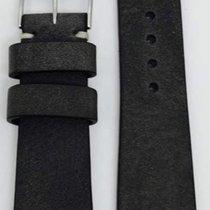 Kaufmann Saddle Vintage Lederband anthrazit 22/18mm 2045 306