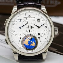 Jaeger-LeCoultre 606352J Duometre Unique Travel Time 18K White...