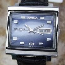 Seiko 5 Actus 1970s Automatic Made in Japan Vintage Stainless...
