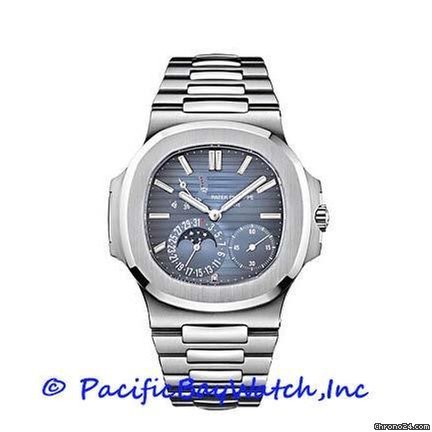 Patek Philippe Nautilus 5712/1A Pre-Owned for $43,800 for sale from a  Trusted Seller on Chrono24