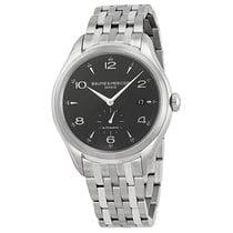 Baume & Mercier Men's Clifton Black Dial Watch M0A10100