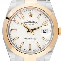 Rolex Datejust II Stahl Gelbgold Automatik Armband Oyster...