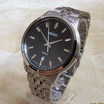 Seiko Quartz, gents, stainless steel