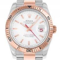 Rolex Datejust Turn-O-Graph Stahl Roségold Automatik Armband...