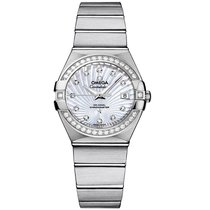 Omega Constellation  Stainless Steel Ladies watch 123.15.27.20...