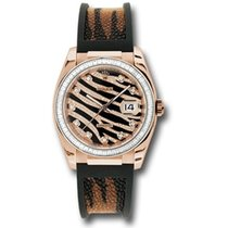 Rolex Datejust 36mm - Gold Gold Royal Pink