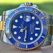 Rolex Mens Submariner 116613 Ceramic Steel And 18k Gold...