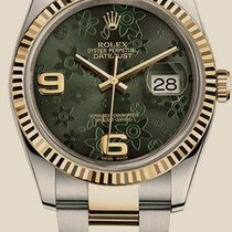 Rolex Datejust 36 mm, steel and yellow gold