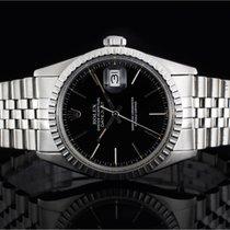 Rolex Datejust (36mm) Ref.: 16030 mit Zifferblatt in Schwarz...