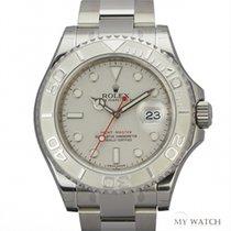 ロレックス (Rolex) Rolex Yachtmaster Platinum White Dial 116622 (NEW)