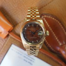 Rolex Datejust Ref. 6917 Wood Dial