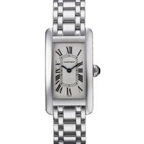 Cartier Tank Americaine Ladies' Watch 18K White Gold...