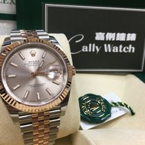 Rolex Cally - 2017  Model DATEJUST II126331 Pink Stick [NEW]